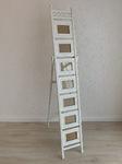 Fußabstand 86cm, zusammengelegt 169cm x 32cm
